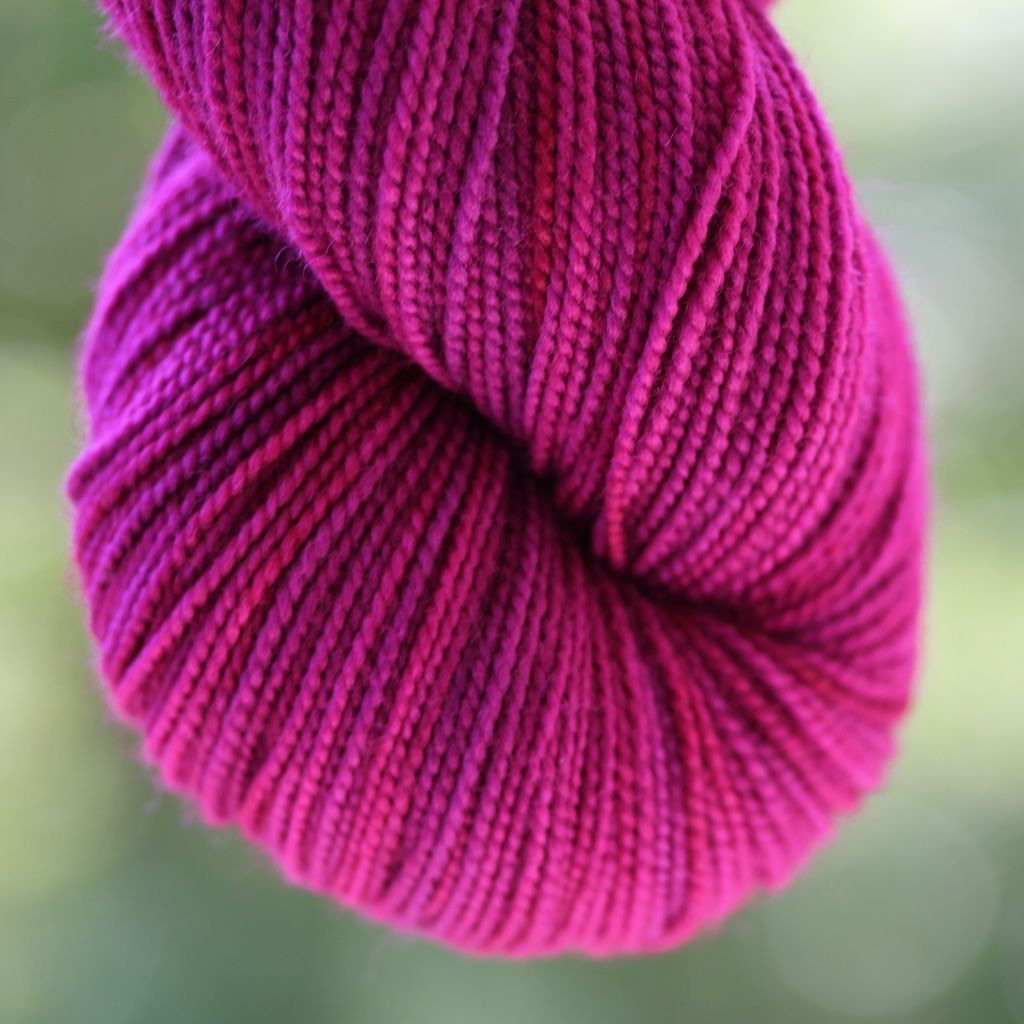 Alpha B Yarns BFF B, Esther's Orchid 5