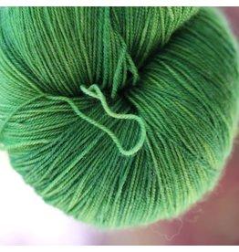 Black Trillium Fibres Silken Lace, Peapod