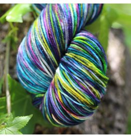 Knitted Wit Victory Sock, Monet's Garden