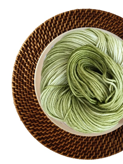 Delicious Yarns Frosting Fingering, Kiwi