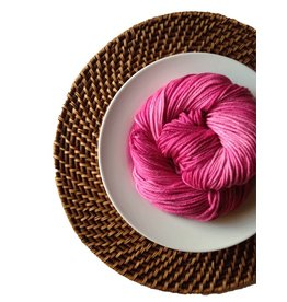 Delicious Yarns Frosting Fingering, Raspberry *CLEARANCE*