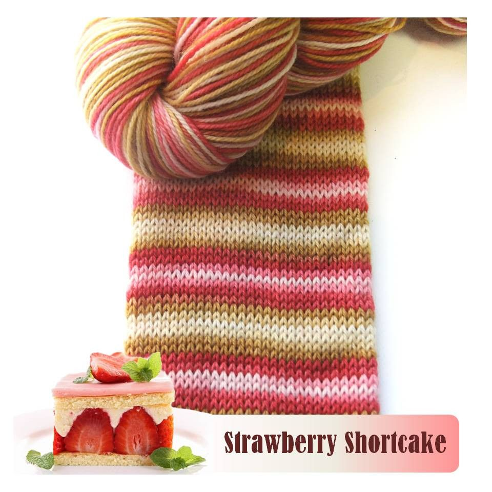 Biscotte & Cie Bis-Sock, Strawberry Shortcake