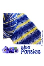 Biscotte & Cie Bis-Sock, Blue Pansies