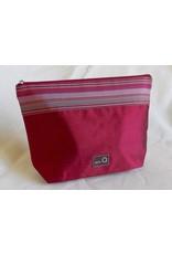 della Q Zip Pouch - Large, Red