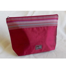 della Q Zip Pouch - Large, Red