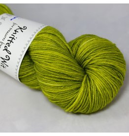 Knitted Wit Targhee Shimmer Worsted, Golden Delicious
