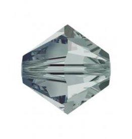 Rowan SHINE Swarovski Beads - 6mm, Black Diamond Selection