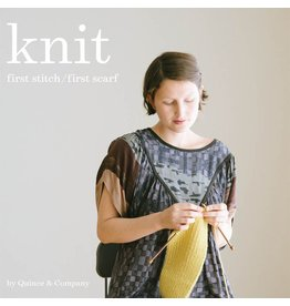 Quince & Co. Knit: First Stitch / First Scarf