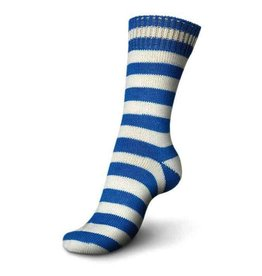 Schachenmayr Regia 4-ply, Blue & White, Color 5395
