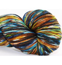 Knitted Wit Victory Sock, Enchanted Forest