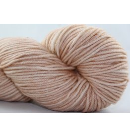 Knitted Wit Targhee Shimmer Worsted, Nude With Attitude