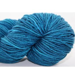 Knitted Wit Targhee Shimmer Worsted, Buckle My Shoes