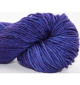 Knitted Wit Targhee Shimmer Worsted, Clematis (DNO)