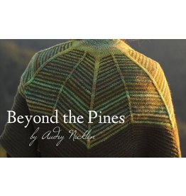 Spincycle Yarns Dyed In The Wool, Beyond the Pines Shawl Kit