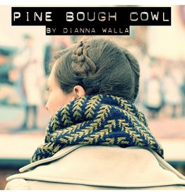 Spincycle Yarns Dyed In The Wool, Pine Bough Cowl Kit