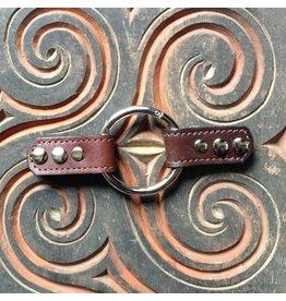 Closure Lisbon Leather Ring - Truffle
