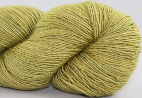 Alpha B Yarns Single Silk B, Two Olives, Please