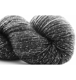 Knitted Wit Pixie Plied, Carbon