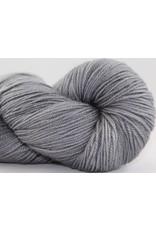 Abstract Fiber Temptation Sock, Silver