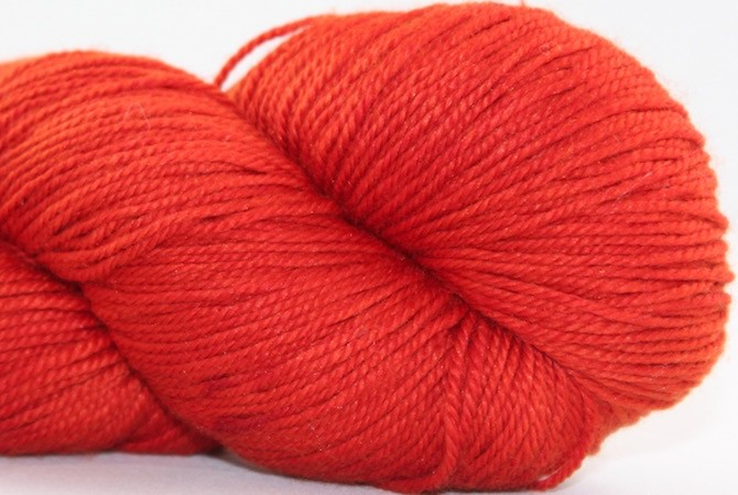 Abstract Fiber Temptation Sock, Cayenne *CLEARANCE*