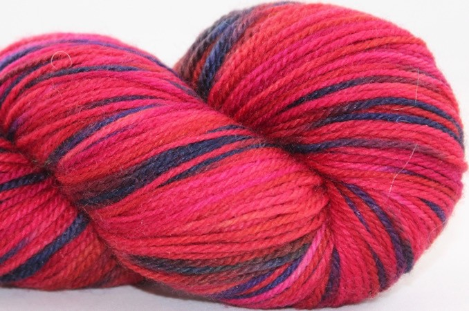 Abstract Fiber Temptation Sock, Anne (For Yarn's Sake Exclusive) *CLEARANCE*
