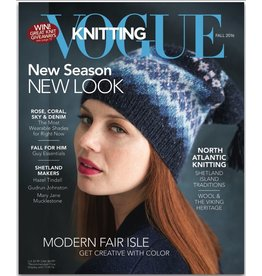 Soho Publishing Vogue Knitting, Fall 2016