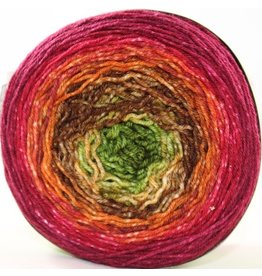 Huckleberry Knits Gradient, Cranberry Autumn