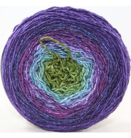 Huckleberry Knits Gradient, Dragonfly