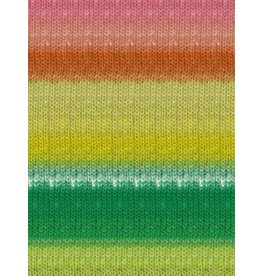 Noro Kureopatora, Lime, Copper, Rose Color 1029