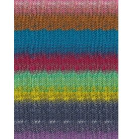 Noro Kureopatora, Reds, Blues, Lemon Color 1033