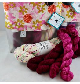 For Yarn's Sake, LLC Bloom Where Planted Shawl Kit - Madge