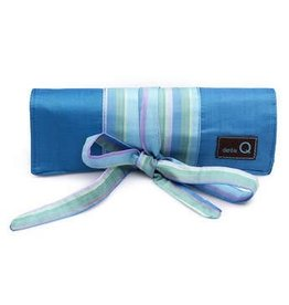 della Q Crochet Hook Roll, Seafoam