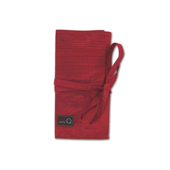 della Q Interchangeable Needle Case, Red