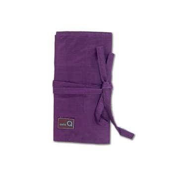 della Q Double Interchangable Needle Case, Purple