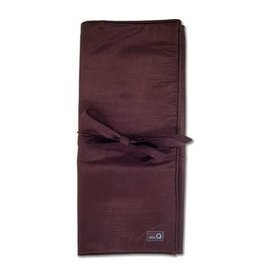 della Q Lily Combination Needle Case, Brown