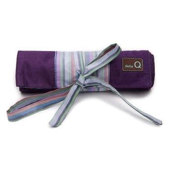 della Q Crochet Hook Roll, Purple