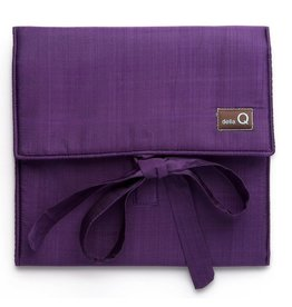 della Q The Que Circular Needle Case - Theo, Purple