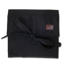 della Q The Que Circular Needle Case - Theo, Black