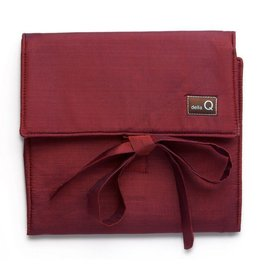 della Q The Que Circular Needle Case - Theo, Red