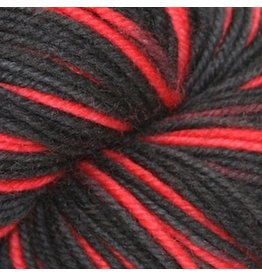 Knitted Wit Superwash Merino Worsted, Uprise