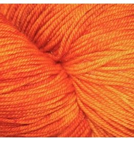 Dragonfly Fibers Djinni Sock, Pumpkin Head