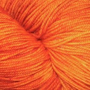 Dragonfly Fibers Djinni Sock, Pumpkin Head *CLEARANCE*