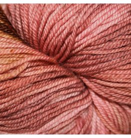 Dragonfly Fibers Djinni Sock, Pink Hydrangea