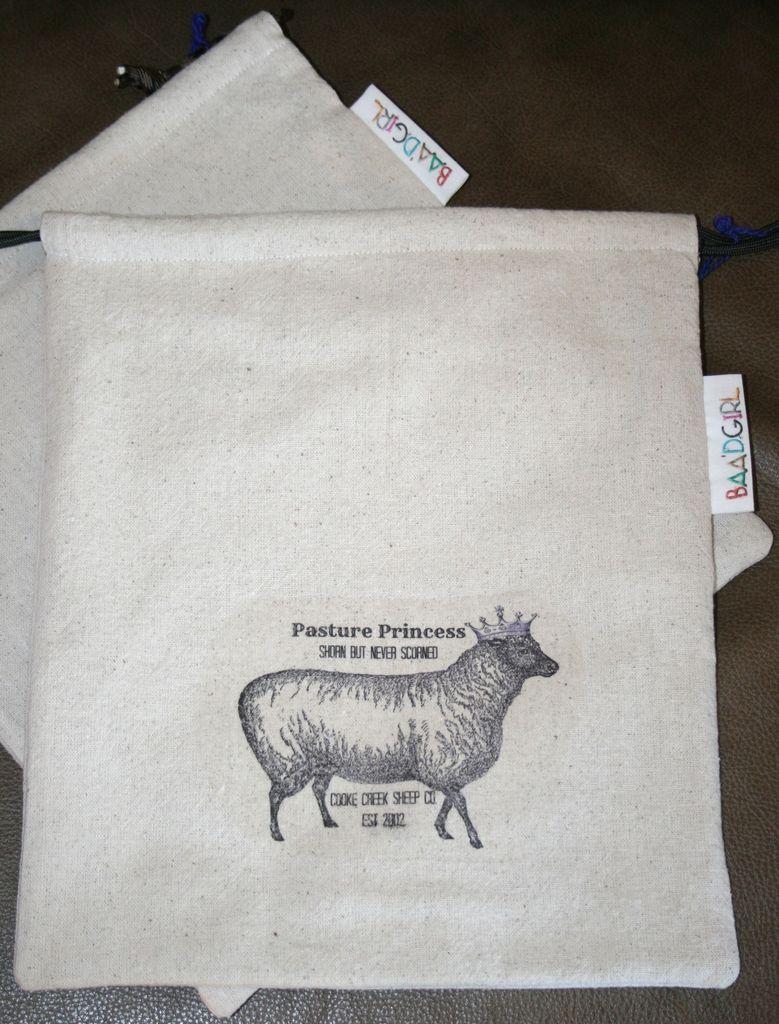 Pasture Princess Wool works Baa'g