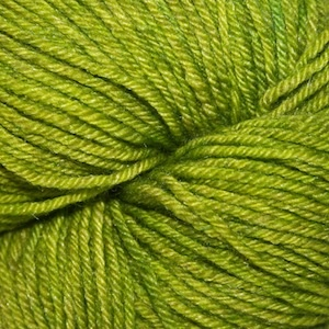 Arctic Qiviut Sock, Mossy Green