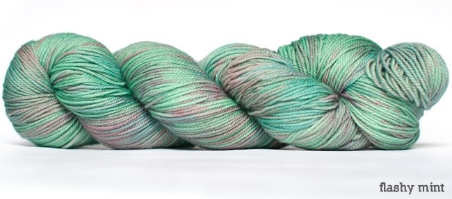 Dream in Color Smooshy with Cashmere, Flashy Mint (Discontinued)