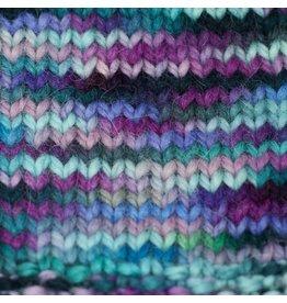 Misti Alpaca Hand Paint Chunky, Purple Turquoise