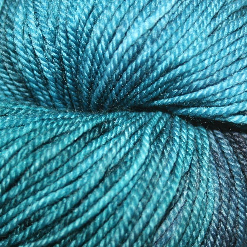 Dragonfly Fibers Djinni Sock, Poseidon *CLEARANCE*