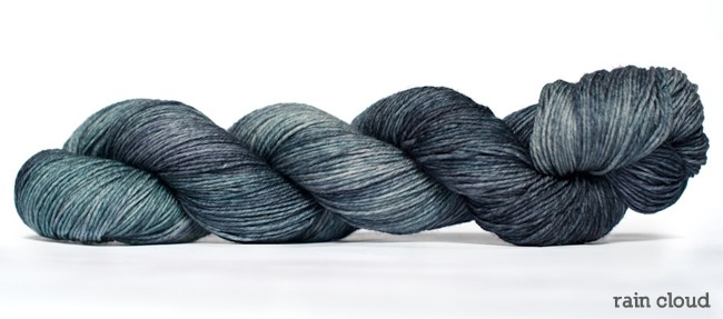 Dream in Color Smooshy with Cashmere, Rain Cloud (Discontinued)