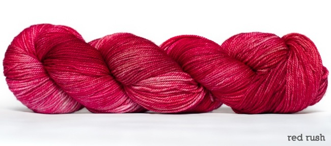 Dream in Color Smooshy with Cashmere, Red Rush (Discontinued)